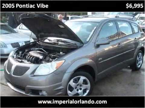 Pontiac Vibe Used Cars Orlando FL