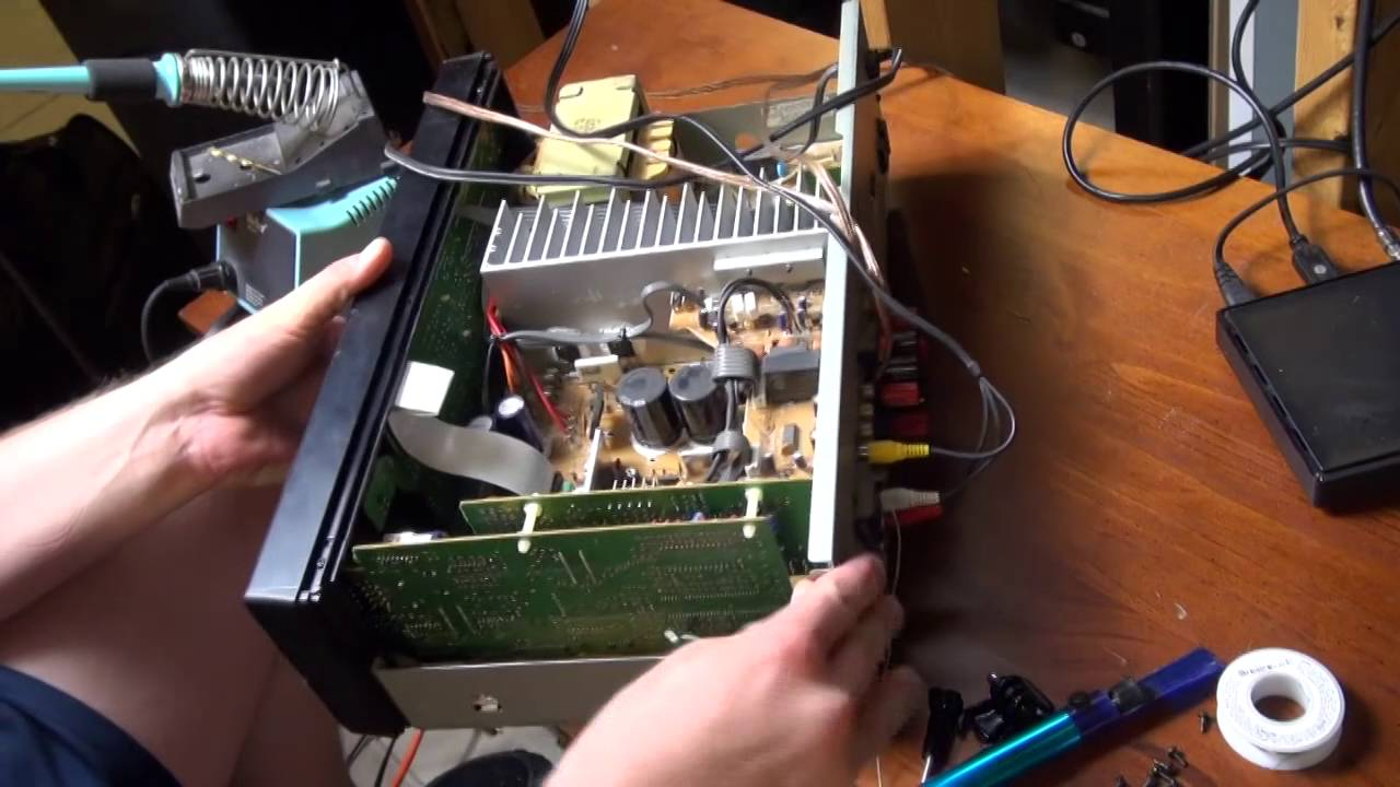 Onkyo TX-SV313PRO Sound Repair