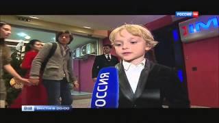 """Шестилетний актер из """"Ёлок 1914""""   сыграл свою восьмую роль в кино - 24.12.14"""