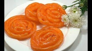 Hint Tatlısı Jalebi ( Çok hafif ve yapılışı çok basit ) diyet şerbetli tatlı tarifi