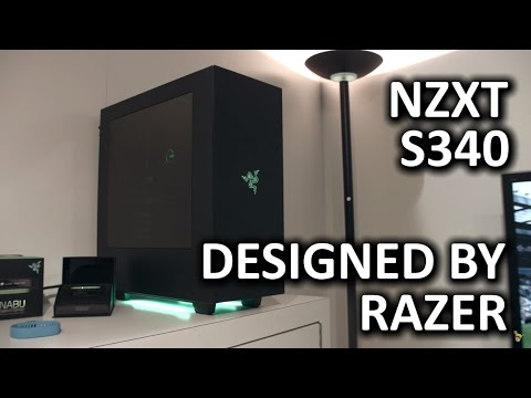 NZXT S340 Designed by Razer - PAX Prime 2015