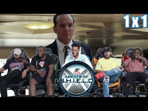 "AGENT COULSON IS HERE!! Agents OF Shield 1 X 1 Reaction! ""Pilot"""