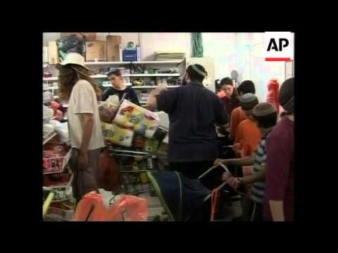 Settlers planning to resist withdrawal, stockpiling food