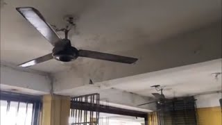 2 KDK Industrial Ceiling Fans at a Repair Shop (2017 Remake)