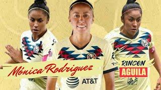 MONICA RODRIGUEZ   Capitana del CLUB AMERICA FEMENIL   RINCON AGUILA   EP 38  