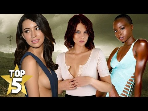 TOP 5 HOTTEST THE WALKING DEAD BABES
