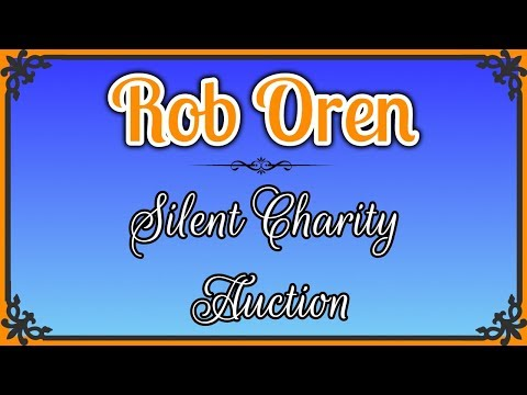 Silent Charity Auction (Rules and Lots in the Video Description)