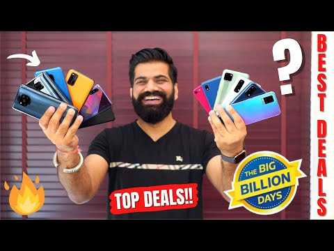 Crazy Deals On Smartphones - Flipkart Big Billion Days Sale 2020 - My Top Picks🔥🔥🔥