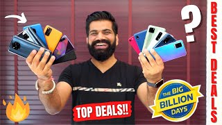 Crazy Deals On Smartphones - Flipkart Big Billion Days Sale 2020 - My Top Picks🔥🔥🔥