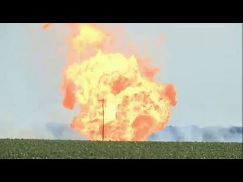 Natural Gas Pipeline Explodes in Rural Kansas