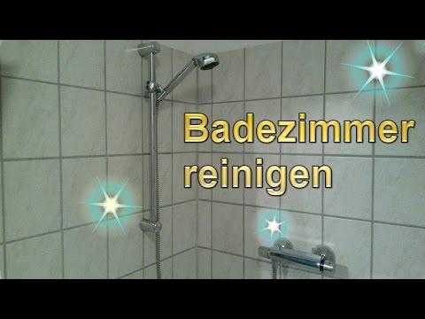 Badezimmer Putztrick - Bad mühelos sauber machen - Lifehack ...