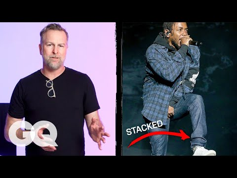 Denim Expert Critiques Celebrities' Jeans | Fine Points | GQ