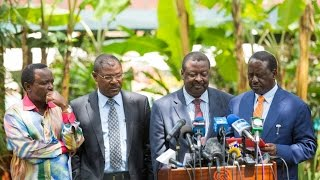 Jubilee leaders from West Pokot have lashed out at NASA line up