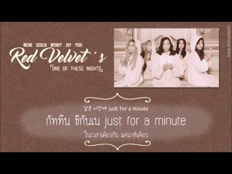 [Thaisub] RED VELVET - One of These Nights (7월 7일) l #easterssub