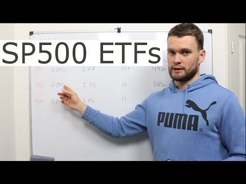 Which S&P500 ETF is the Best? [SPY vs. VOO vs. IVV] thumbnail