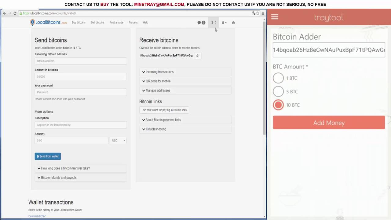 bitcoin adder for android