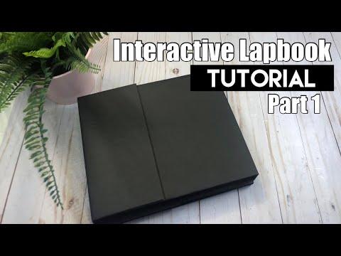 Interactive Lapbook Tutorial ~ Part 1