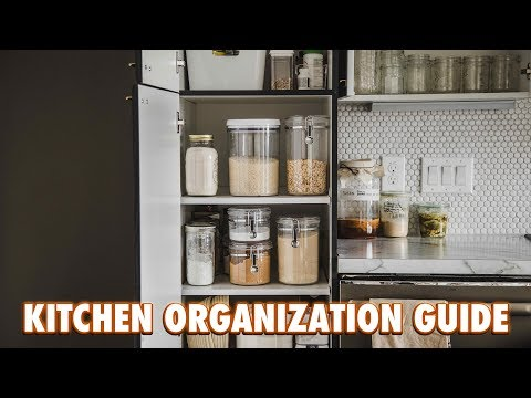 The Practical Kitchen Organization Guide