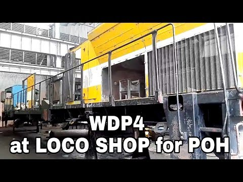 WDP4 in  Periodical Overhauling at workshop