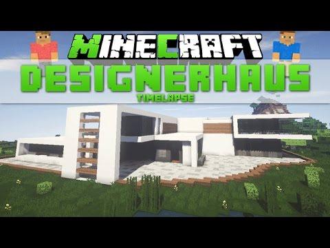 Minecraft Gebäude 30  Modernes Haus Timelapse [download