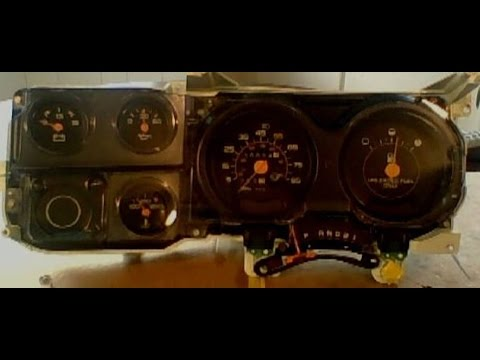 1988 GMC Square Body Instrument Cluster Repair/Restoration