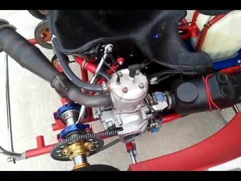 Birel Racing Kart Tag 125cc Leopard Engine Screams Extras