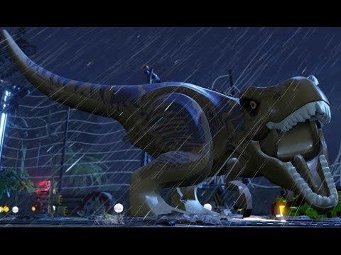 Мультфильм LEGO про динозавров (Jurassic World, 720 HD)