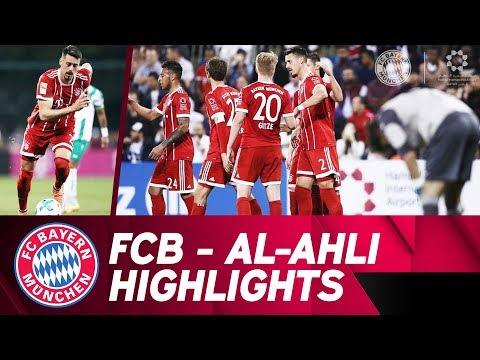 1st goal from Sandro Wagner! ⚽ FC Bayern - Al Ahly 6:0 | Highlights Friendly Match