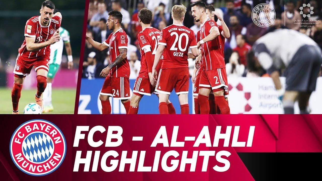 1st Goal From Sandro Wagner Fc Bayern Al Ahli 6 0 Highlights Friendly Match