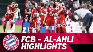 1st goal from Sandro Wagner! ⚽ FC Bayern - Al-Ahli 6:0 | Highlights Friendly Match