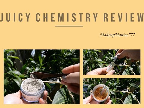 Juicy Chemistry Review | Organic, herbal, affordable skincare products in India