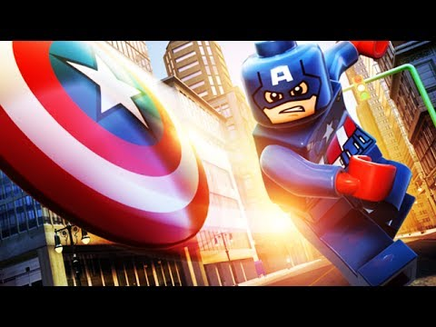 Marvel Superheroes 3d Wallpapers Lego Marvel Super Heroes 3d The Movie Game 2 Captain