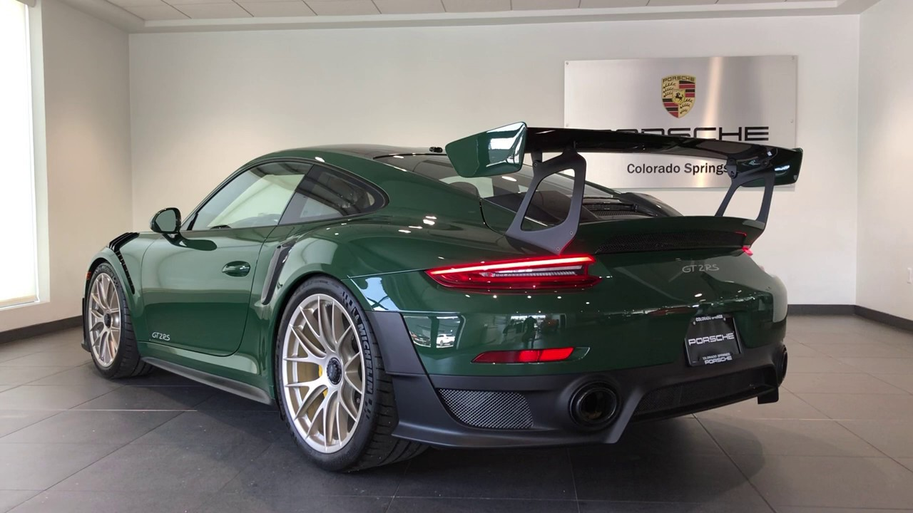 British Racing Green Porsche 911 Gt2 Rs Youtube