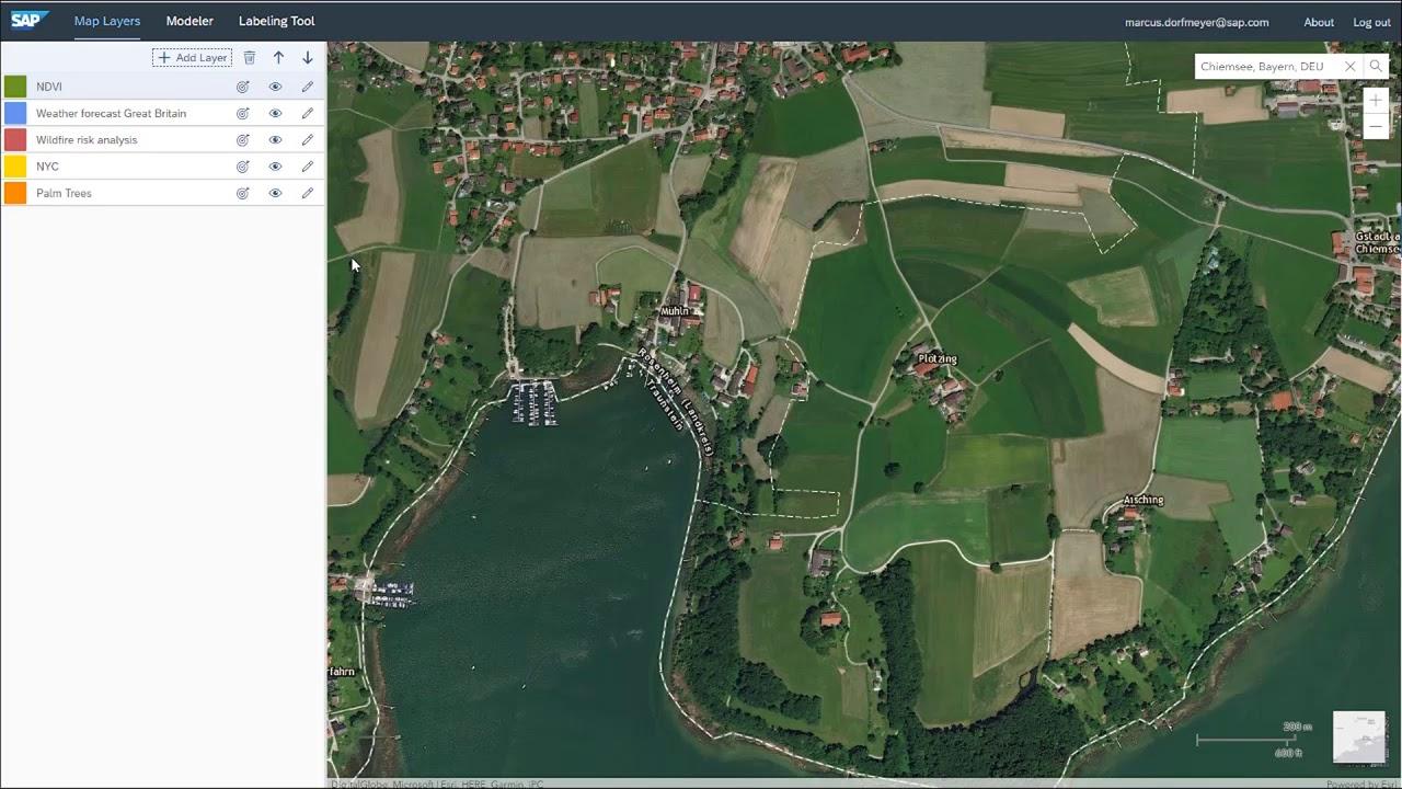 SAP HANA spatial services | SAP Cloud Platform