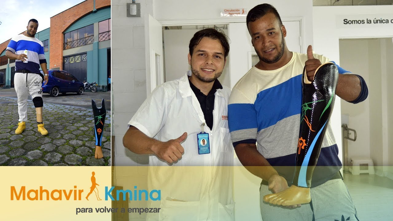 Una prótesis personalizada para un campeón  - Mahavir Kmina