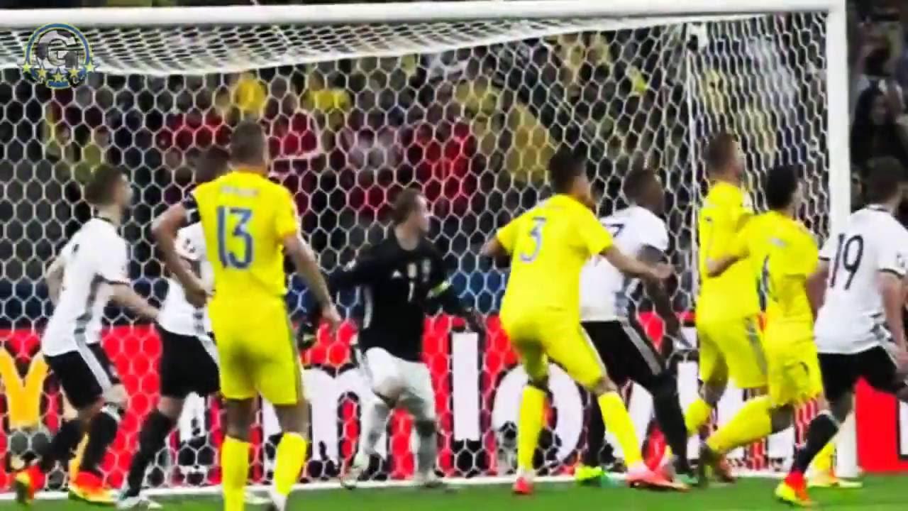 Résumé Allemagne - Ukraine (2-0) Euro 2016 - YouTube