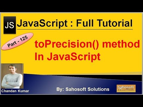 toPrecision() method in JavaScript   JavaScript Full Tutorial in Hindi thumbnail