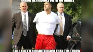 !!Aaron Hernandez Funny Memes!! (Warning Don't take it personally)