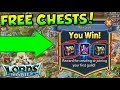 Lords Mobile - How to get Free Chests and Boosts (No Hack/Cheat)