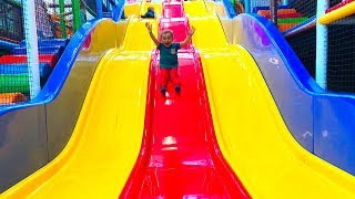 Indoor playground Play Area for kids with Super Lev Большая Игровая Площадка