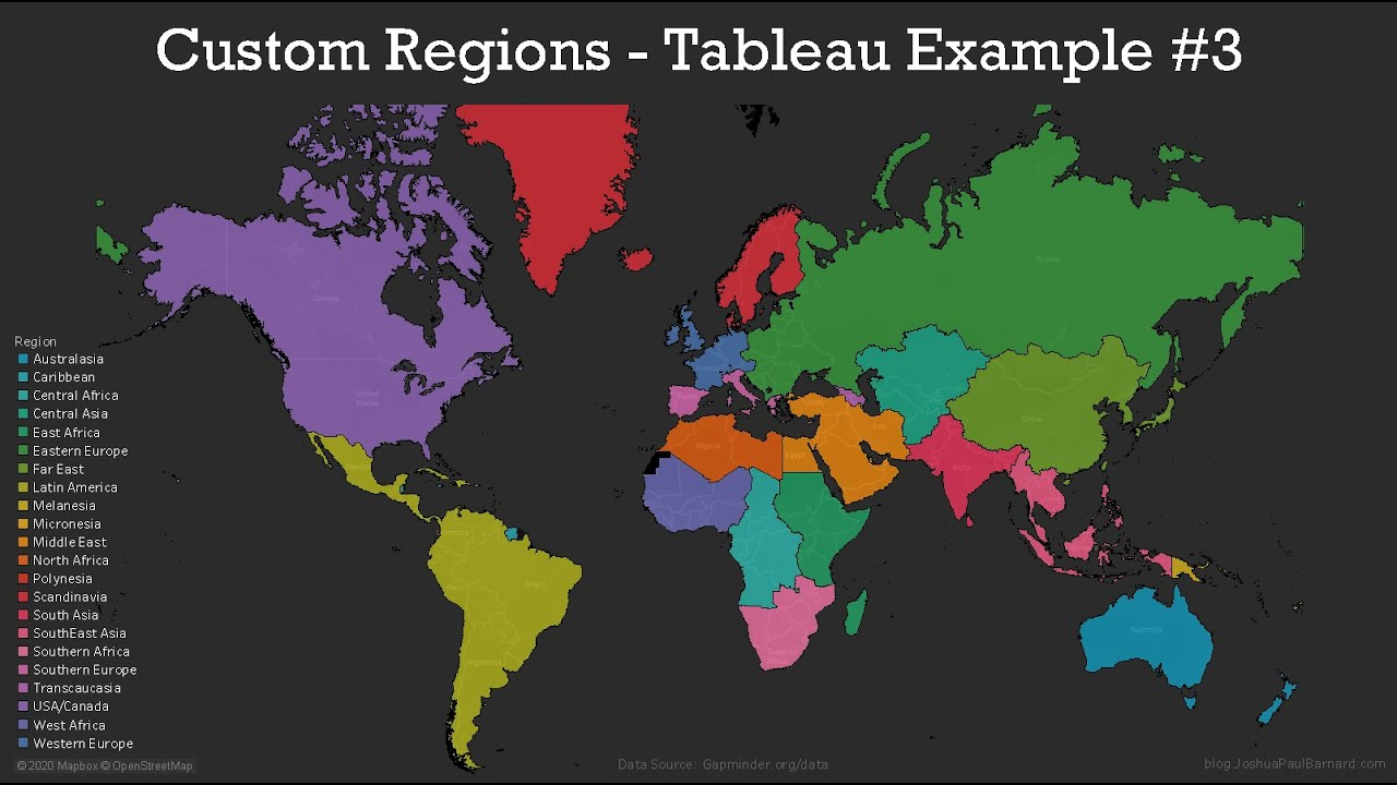 Custom Regions Territories Tableau Example 3 Joshua Paul Barnards Blog