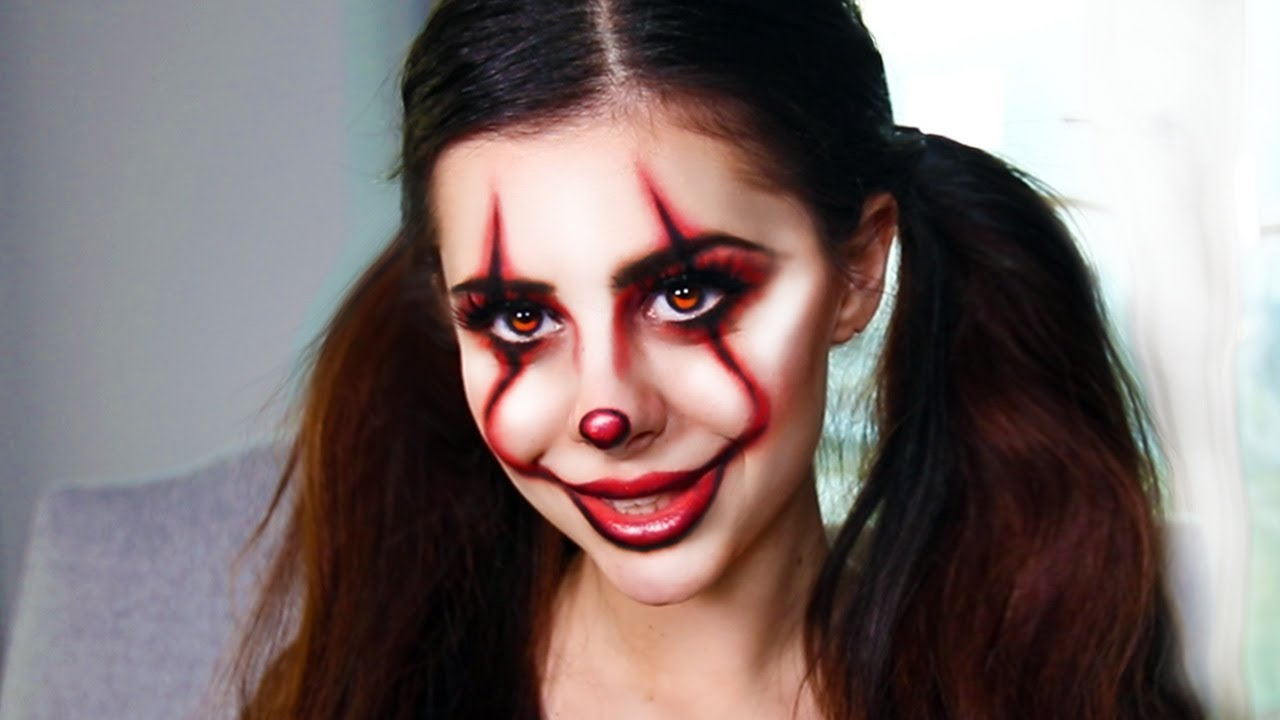 Make Up Halloween Ideas.More Last Minute Diy Halloween Costume Makeup Ideas It Pennywise Clown Tutorial