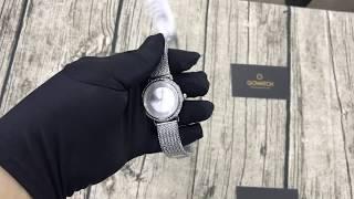 uess W0836L2 Women Willow Stainless Steel Mesh Bracelet Watch