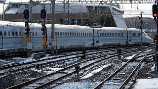 2020/01/05 秋田新幹線 こまち14号 E6系 Z17編成 秋田駅 | JR East Akita Shinkansen: E6 Series Z17 Set at Akita