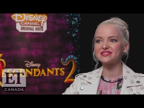 Dove Cameron China Anne Mcclain Talk Disneys Descendants 2