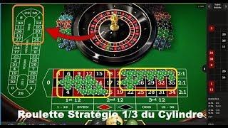 Stratégie de ROULETTE - Gagner à la roulette avec 1/3 des numéros.