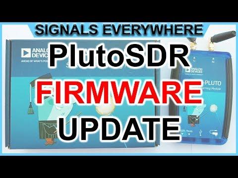 Adalm Pluto SDR Tutorial: Firmware Update