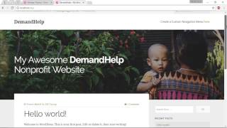 Create an NGO Website - 03. Creating & Setting Up Pages in Our NGO WordPress Site