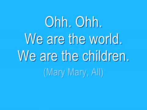 WE ARE THE WORLD 2010 HAITI *OFFICIAL LYRICS*