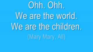 WE ARE THE WORLD 2010 HAITI *OFFICIAL LYRICS*